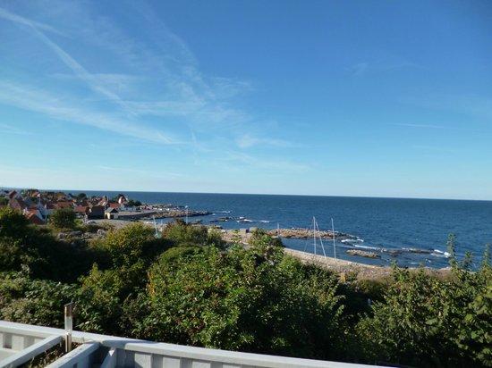 Hotel Klippen: View form our deck