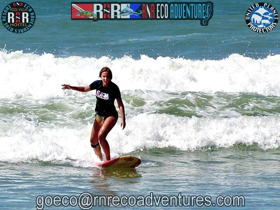 RNR Eco Adventures Pool Villa Resort & Hostel: RNR Kata Beach Surf Lessons