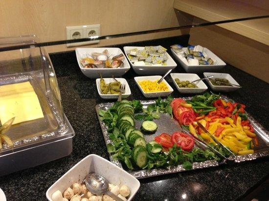 Petul Hotel An der Zeche: La pessima colazione