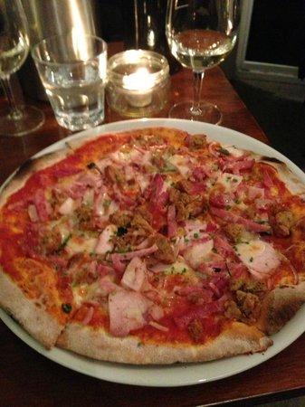 Tombolo Freycinet: pizza