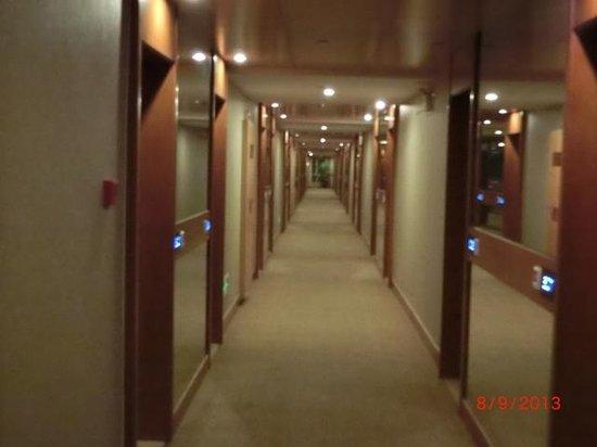 Joy Holiday Hotel Suzhou Renmin Road Branch Hotel: The corridor