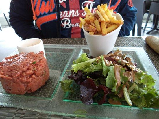 Brasserie club 15: tartare