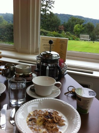 Laura Ashley Hotel The Belsfield : Breakfast with a view!