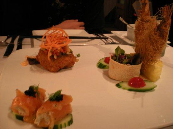 Chai's Island Bistro: 独創的な前菜
