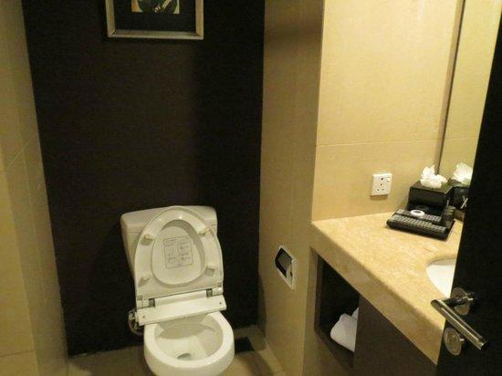 Akmani Hotel: Toilet