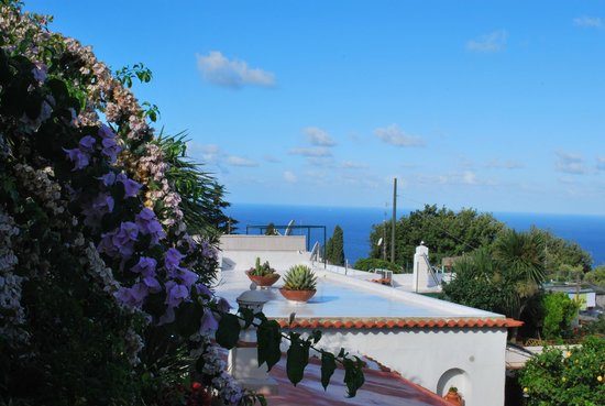 Villa Mimosa Bed & Breakfast Resort: La vista sul mare