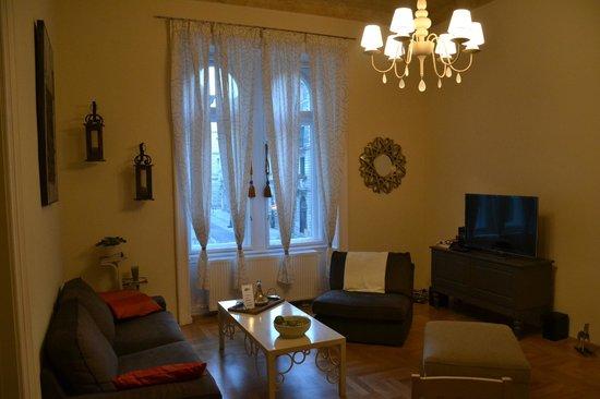 Entre Amis Apartments Budapest: Living