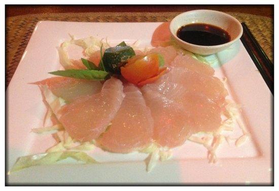 Artcafe : Sashimi of spanish Mackarel