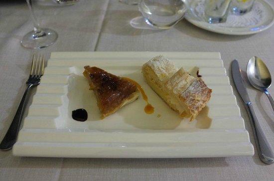 Restaurante Miramar: tatin et mille-feuilles