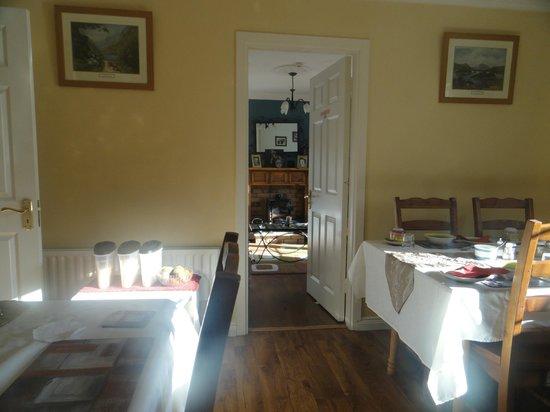 Ryebrook House Bed and Breakfast: Comedor