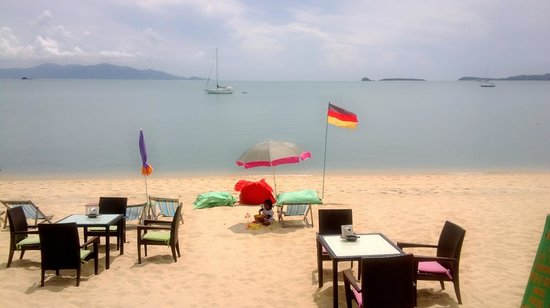 Coffee Gecko Koh Samui: The Beach