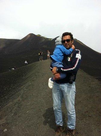 Hotel Biancaneve: Foto sul cratere dell'Etna