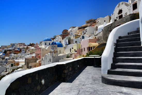 Art Maisons Luxury Santorini Hotels Aspaki & Oia Castle: Always surrounded by amazing views
