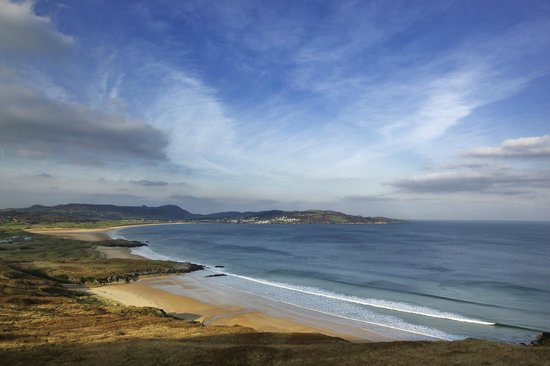 Clanree Hotel: Donegal Scenery