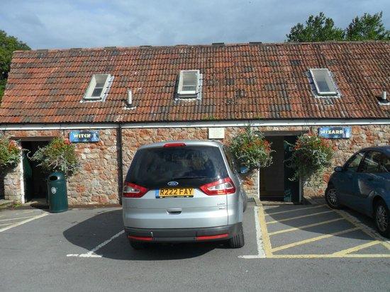 Wookey Hole Hotel: Wookey's car park toilets