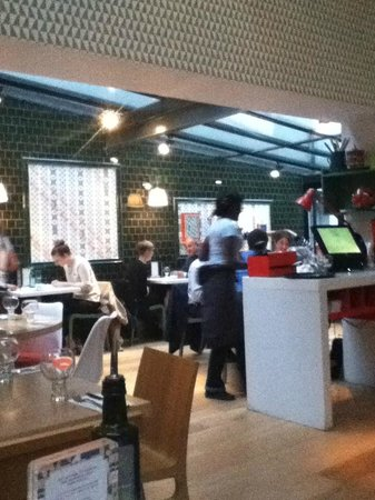 Ask Italian - London - Gloucester Arcade: avventori..