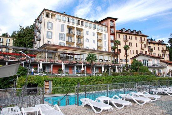 Hotel Belvedere Bellagio: Hotel Belvedere Terrace and Pool