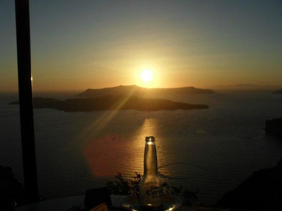 Markezinis Suites: tramonto a Oja