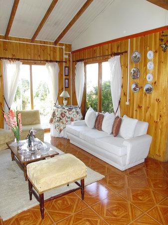 Cabanas Los Canelos: Aufenthaltshaus/Haupthaus