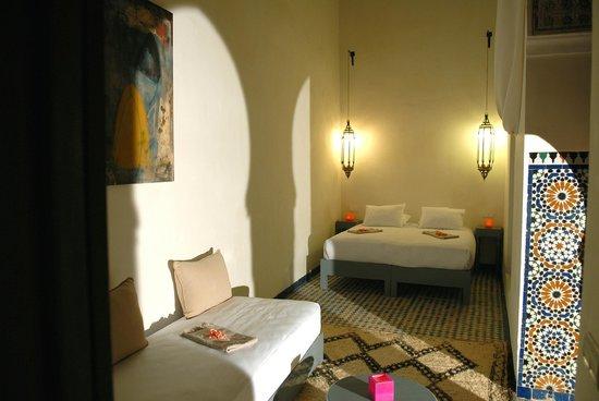 Hotel & Spa Riad Dar Bensouda: Chambre