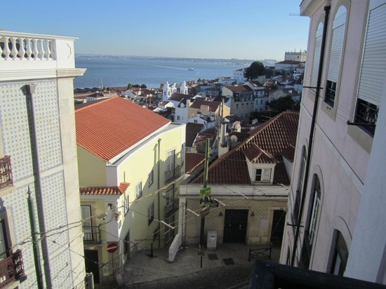 Alfama Patio Hostel: View from our double room