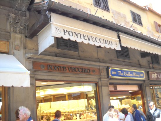 Ponte Vecchio: particolare
