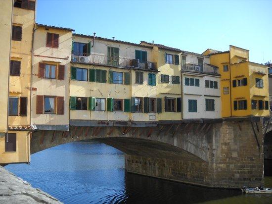 Ponte Vecchio: vista panoramica