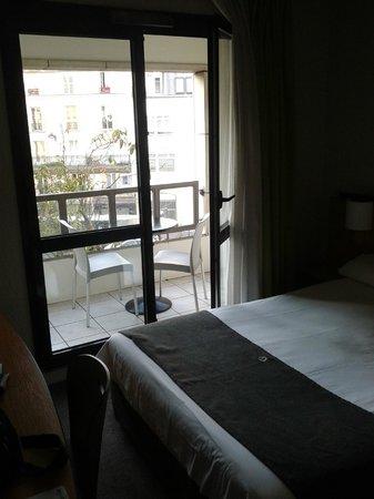 Hotel Campanile: Balcone della stanza