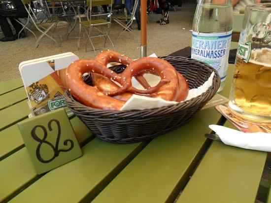 Braugarten Giardino Forst: i brazel .stupendi ancora caldi