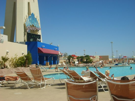 Stratosphere Hotel, Casino and Tower: piscine