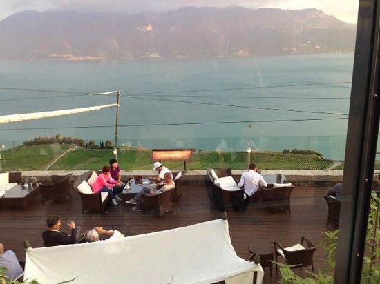 Restaurant & Bar Lounge - Le Deck - Hôtel  & Spa du Baron Tavernier照片