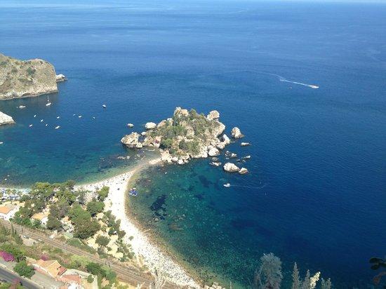 Taormina Tour - Day Tours: Vista dal balcone panoramico di Taormina
