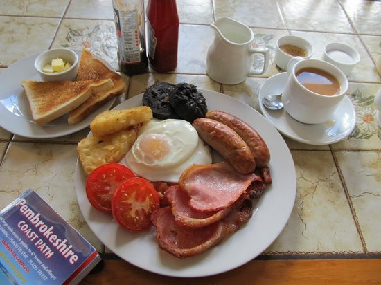 The Mill: Large Breakfast, without mushrooms...