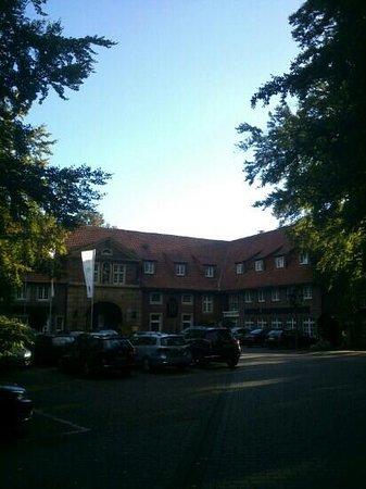 Hotel Klosterpforte: l'ingresso alla Corte interna