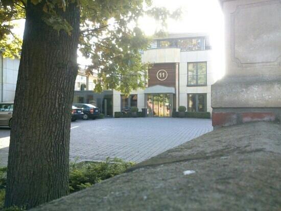 Hotel Klosterpforte: uno dei blocchi più recenti, il padiglione 11