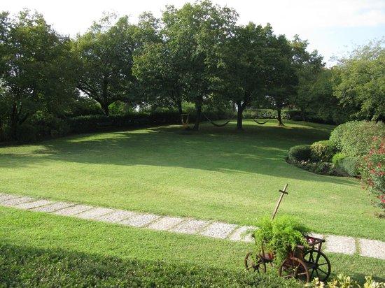 B&B Villa Beatrice: Il giardino