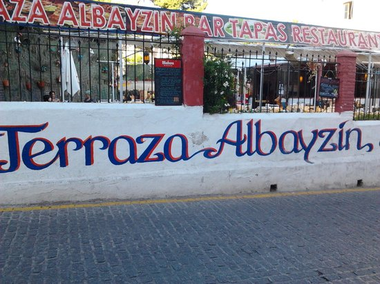 Terraza Albayzin: Esterno del ristornate