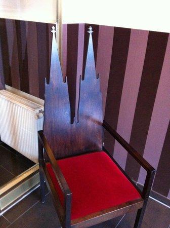 Hotel Domspitzen: cute chair