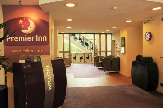 Premier Inn Glasgow City Centre (George Square) Hotel: Reception