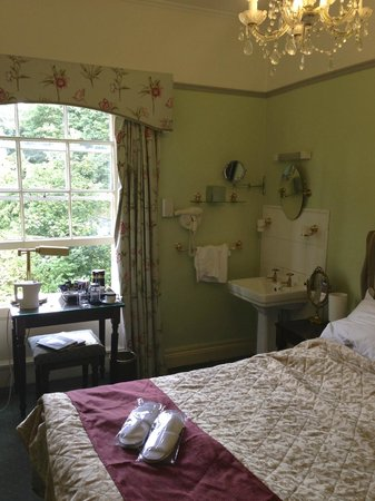 Bailbrook Lodge: Tea & coffee facilities, room view