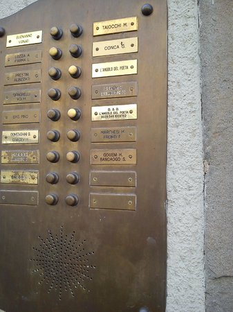 L'Angolo del Poeta: перед входом в отель
