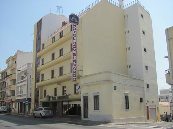 BEST WESTERN Hotel Dom Bernardo : Hotel Frontansicht