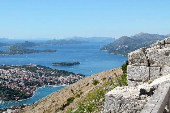 Museum of Croatian War of Independence : View from the top of the fort