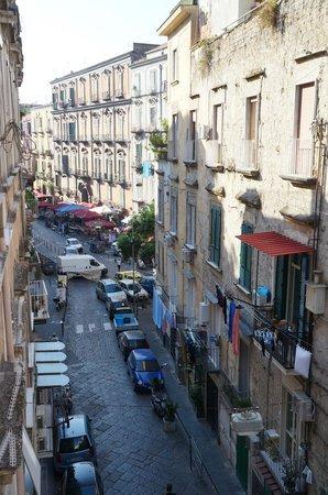 Casa D'Anna : Via Cristallini (from communal area, the rooms face the backyard)