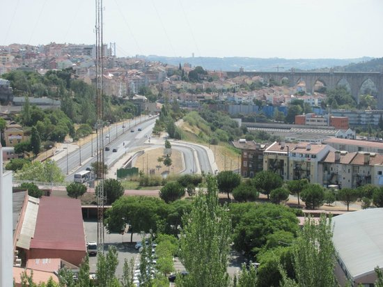 Hotel Ibis Lisboa Jose Malhoa: Blick aus dem Zimmerfenster