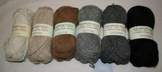Butlers Farm Alpacas: Hypoallergenic Knitting Yarns
