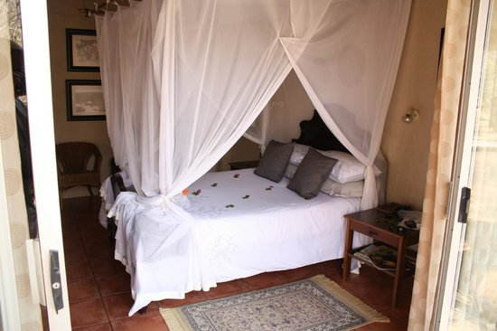 KwaMbili Game Lodge: Comfy beds