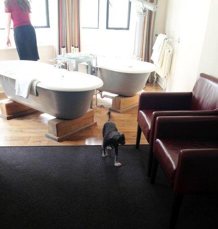 Hotel du Vin: Twin Baths + Telescope in room