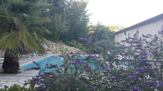 LE MAS DE FRAYERE : Вид на бассейн