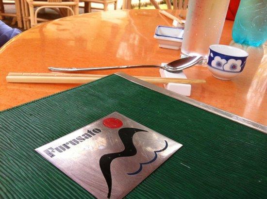 Furusato Japanese Restaurant: Menu